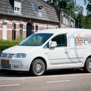 Belettering Volkswagen Caddy - LTT, Weert