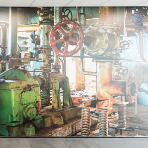 Fotowand kantoor - Ketelaars Laswerken, Nederweert