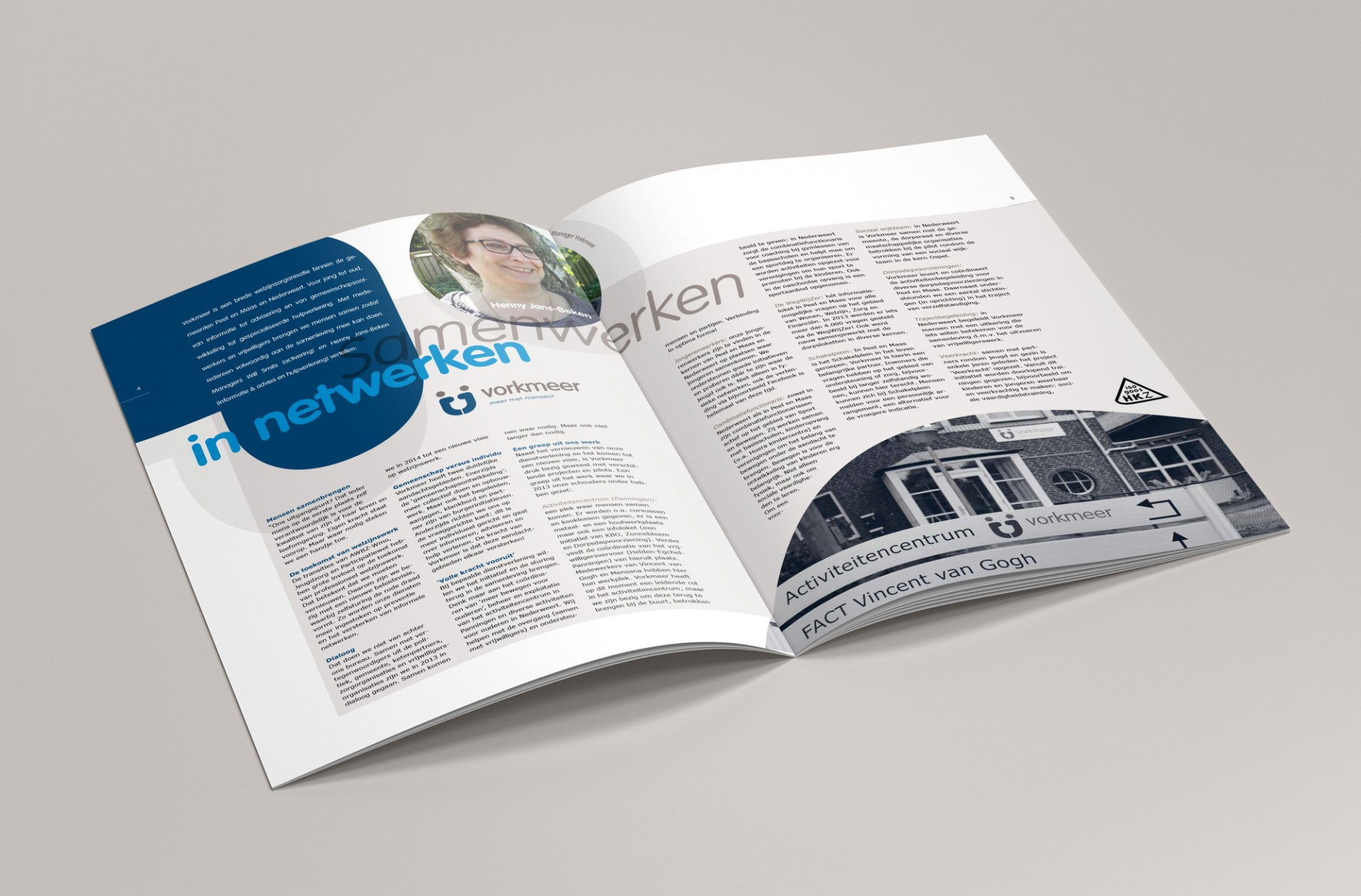 Brochure jaarverslag - Unitus, Panningen