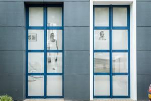 Oneway vision raamstickers - Tegel Centrum Weert