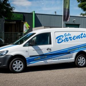 Autobelettering - Stukadoors- & Afbouwbedrijf Gebr. Barents, Weert