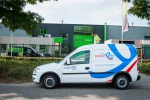 Autobelettering Opel Combo - Roost Olie, Nederweert