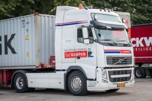 Vrachtwagen belettering - Multimodale Terminal De Kempen, Budel