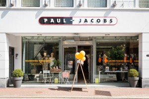 Pand belettering - Paul Jacobs Fashion, Weert