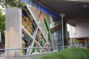 Gevel print - Maritiem Museum, Rotterdam