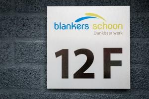 Huisnummer - Blankers Schoon, Weert