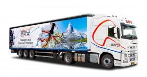 Vrachtwagen belettering - LTT, Weert