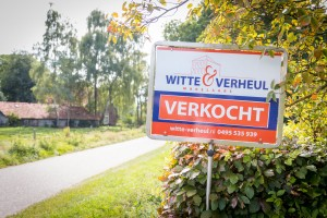 Makelaarsbord - Witte & Verheul, Weert