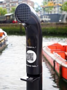 Sticker QR code - Maritiem Museum, Rotterdam