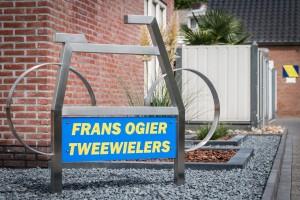 Reclamebord - Frans Ogier Tweewielers, Weert