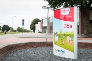 Verlichte reclamezuil - Joosten young animal nutrition, Weert