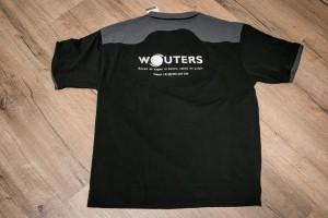 Bedrijfspolo's voorzien van logo d.m.v. borduren - Wouters, Weert