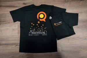T-shirts voorzien van bedrukking d.m.v. hittetransfer - Arhold B.V., Roosteren