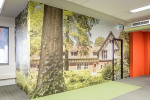 Wallwrap kantoor - Zuiderhuis, Weert