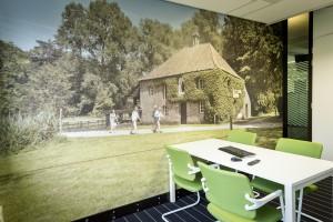 Wallwrap Spreekkamer - Zuiderhuis, Weert