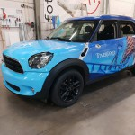 Toverland mini car wrap